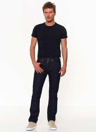 Levi's® Levıs 501 Jeans Erkek Kot Pantolon 00501-0115 Koyu Lacıvert Renkli